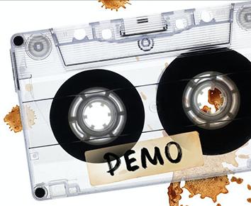 kaseta magnetofonowa demo
